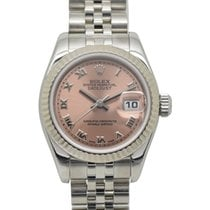 Rolex Steel Automatic Roman numerals 26mm pre-owned Lady-Datejust