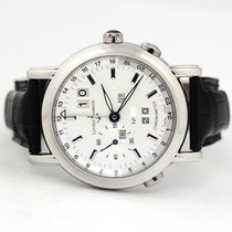 Ulysse Nardin GMT +/- Perpetual Платина 40mm Белый
