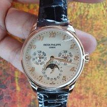 Patek Philippe Or rose Remontage automatique Champagne Arabes 39mm nouveau Perpetual Calendar