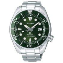 精工 Prospex 钢 45mm 绿色 无数字