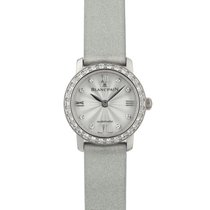 Blancpain Women White gold 21mm Silver