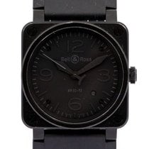 Bell & Ross Steel Automatic 44mm pre-owned BR 03-92 Ceramic