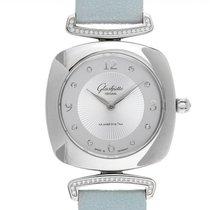 Glashütte Original Pavonina new 2020 Quartz Watch with original box and original papers 1-03-02-12-12-35