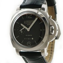 Panerai Luminor 1950 8 Days GMT Black