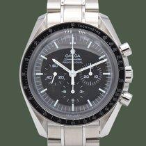 Omega Speedmaster Professional Moonwatch Acciaio 42mm Nero Senza numeri Italia, Terni
