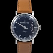 Meistersinger N° 03 Steel 38mm Blue
