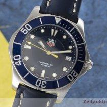 TAG Heuer Aquaracer 300M Acier 38mm Bleu