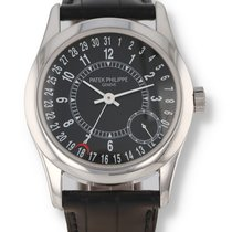 Patek Philippe Calatrava White gold 37mm Black United States of America, New Hampshire, Nashua