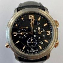 Blancpain Léman Réveil GMT Titan 40mm Schwarz Arabisch Schweiz, Wetzikon