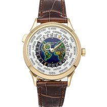 Patek Philippe World Time Yellow gold 38.5mm White