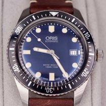 Oris Divers Sixty Five Acier Bleu France, CHAVENAY