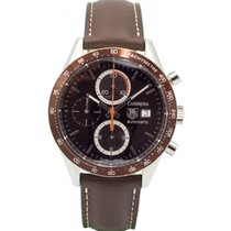 TAG Heuer Carrera Calibre 16 Steel 41mm Brown No numerals