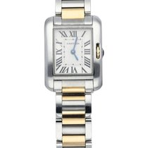 Cartier Tank Anglaise Steel 23mm Silver United States of America, New York, New York