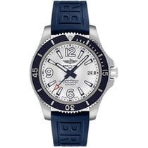 Breitling Steel Automatic White 42mm new Superocean 42