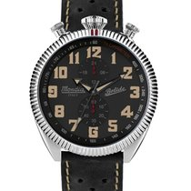 Mondia Steel 45mm Automatic MI-782-SS-03BK-CP new United States of America, Connecticut