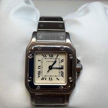 Cartier Santos (submodel) Acier Blanc
