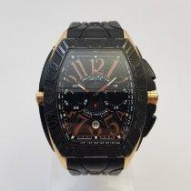 Franck Muller Conquistador GPG Pозовое золото 50mm Черный Aрабские