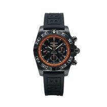 Breitling Chronomat 44 Raven Acero 44mmmm Negro