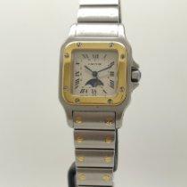 Cartier Santos Galbée 119902 Meget god Guld/Stål 24mm Kvarts