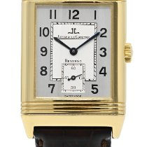 Jaeger-LeCoultre Or jaune Remontage manuel Gris Arabes 26mm occasion Reverso Grande Taille
