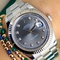 Rolex Datejust II 116334 Sehr gut Silber 41mm Automatik Österreich, Wien