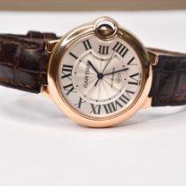 Cartier Ballon Bleu 36mm Or rose 36mm Argent