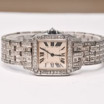 Cartier Santos Demoiselle Acero 26mm Blanco