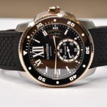 Cartier Calibre de Cartier Diver Acier 42mm Noir Romains