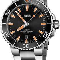 Oris Aquis Date Steel 43.5mm Black United States of America, New Jersey