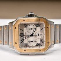 Cartier nouveau Remontage automatique 43.3mm Or/Acier Verre saphir