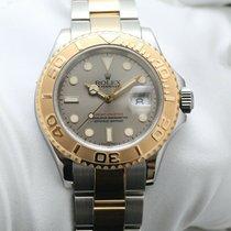 Rolex Yacht-Master 40 Gold/Steel 40mm Grey No numerals United Kingdom, Oxford