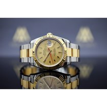 Rolex Datejust Turn-O-Graph Guld/Stål 36mm Guld