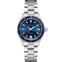 Hamilton Jazzmaster Seaview Steel 37mm Blue