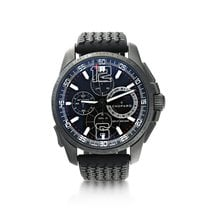 Chopard Steel Automatic Black 44mm pre-owned Mille Miglia