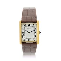 Cartier Tank Louis Cartier Yellow gold 35mm White United States of America, New York