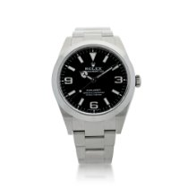 Rolex Explorer Steel Black United States of America, New York