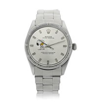 Rolex Oyster Perpetual 34 Acero 33mm Plata