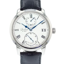 Glashütte Original Senator Chronometer occasion 42mm Argent Date Cuir