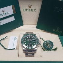 Rolex Submariner Date Steel 40mm Green No numerals Canada, Ontario