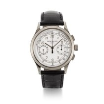 Patek Philippe Chronograph White gold 39mm Silver United States of America, New York