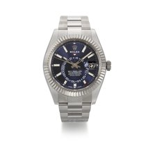 Rolex Sky-Dweller Gold/Steel 42mm Blue United States of America, New York