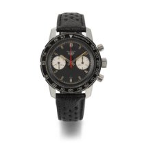 Heuer Steel 40mm Chronograph 7763C NS United States of America, New York
