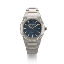 Girard Perregaux Laureato Steel 38mm Blue United States of America, New York