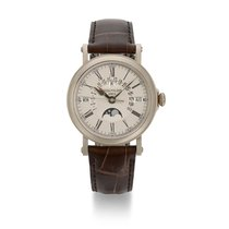 Patek Philippe Perpetual Calendar White gold Silver United States of America, New York