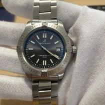 Breitling Chronomat Colt Steel 41mm Grey No numerals