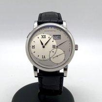 朗格 Grand Lange 1 鉑 42mm 銀色 羅馬數字