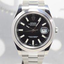 Rolex Datejust II Acier 41mm Noir Sans chiffres France, Cannes