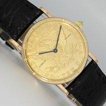Corum Coin Watch Gelbgold 28mm Gold (massiv) Keine Ziffern Deutschland, Dresden
