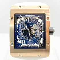 Richard Mille Red gold Automatic Transparent Arabic numerals pre-owned RM 016