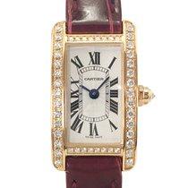 Cartier Roségold 15.2mm Quarz WB710014 gebraucht